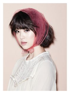 f(x)'s Sulli Oh Boy! Korea Magazine Vol.35 March Issue '13
