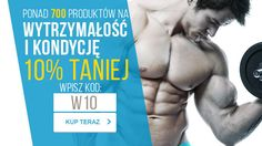 Produkty i preparaty sportowe usprawniające wydolność organizmu, kondycję oraz wytrzymałość mięśni z 10% zniżką => http://www.kulturystyka.sklep.pl/Wytrzymalosc-i-kondycja,c1101.html