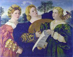 Lorenzo Lotto, Venetian - A concert c. 1525