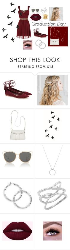 """Grad 2017"" by fightingsince99 on Polyvore featuring Loeffler Randall, Bueno, Christian Dior and Roberto Coin"