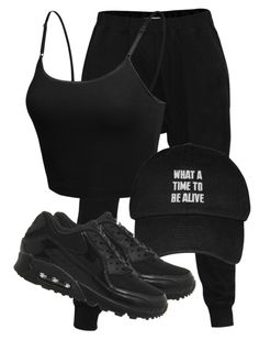 """Untitled #3185"" by xirix ❤ liked on Polyvore featuring LE3NO, NIKE, women's clothing, women's fashion, women, female, woman, misses and juniors"