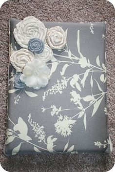 I really like this cover! It uses binder pieces for extra protection, and it seems to have very detailed and straight forward directions.  Make it #1 on my to-do list