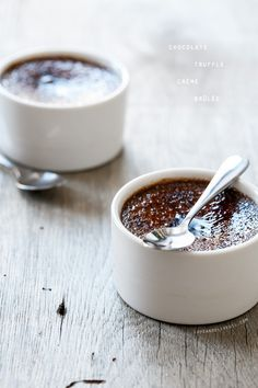 A Valentine's Day dessert that's perfect for two: Chocolate Truffle Crème Brûlée