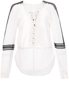 Step up your spring style in 10 of the best lace up tops of the moment. See the full list here: