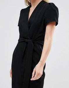 Alter | Alter Wrap Tea Midi Dress