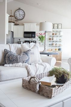 Custom Slipcovers to get that Farmhouse style