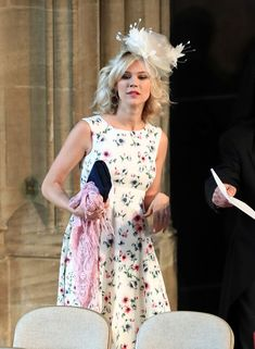 Fascinator idea for Derby Day.  Joss Stone - All Of The Famous Guests At The Royal Wedding - Photos