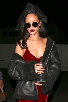 WHO: Rihanna   WHERE: On the street, Los Angeles    WHEN: December 17, 2015