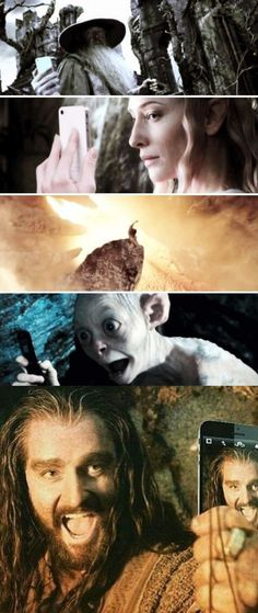 Middle Earth Selfies :D