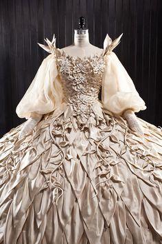 Evil Queen Wedding Dress Jan Thijs made with SWAROVSKI ELEMENTS