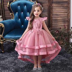 Baby Girl Party Dresses, Little Girl Dresses, Baby Dress, Dress Girl, Birthday Dresses, Baby Girl Birthday Dress, Dress Party, Formal Dresses For Weddings, Girls Formal Dresses