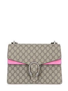 96a54323b76b GUCCI Medium Dionysus Gg Supreme Shoulder Bag
