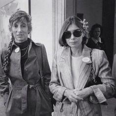 Renata Adler & Joan Didion killing it @interviewmag...