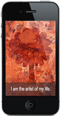 Just one of over 2350 pages/screens in the new Affirm Your Life iPhone app.