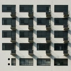Bauhaus Dessau balconies