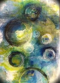 Love this color combo - MaryBeth Shaw 'The Common Denominator'