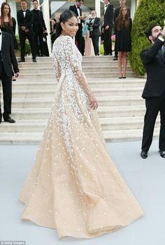 Chanel iman - glitter