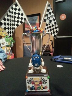 2014 Convention - Charlotte, NC - Blue banquet centerpiece