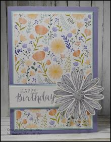 Need a card in a hurry?  With the Daisy Delight stamp set, Daisy Punch a Delightful Daisy Designer Series Paper you can create some beautif...