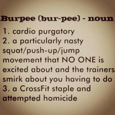 burpees suck!
