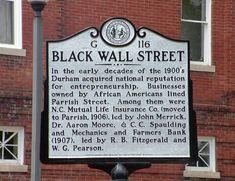 "The Story of ""Black Wall Street"", 1921 Tulsa, Oklahoma Race Riots — The Melanin Project Wall Street, Street Signs, John Merrick, Tulsa Race Riot, American Line, African American Culture, Black Walls, Before Us, Durham"