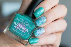 Unicorn + Nail Art by The Polishing Life