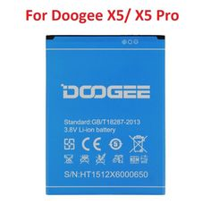 New Battery For Doogee X6 Battery 3000mah Li-ion Replacement Backup Battery For Doogee X6 Pro Cell Phone Cellphones & Telecommunications Mobile Phone Parts +tracking Code