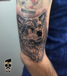 Wolf tattoo , kurt dövmesi