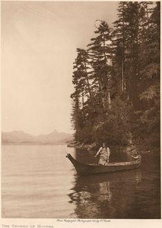 Nootka men – 1915