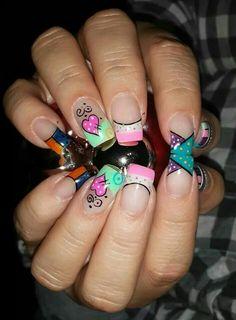 Animal Prints, Nails Inspiration, Cute Nails, Mj, Nail Ideas, Manicure, Hearts, Nail Art, Nail Design
