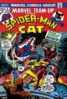 Marvel Team-Up 8 - Spider-man and the Cat