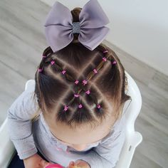 Girls Hairdos, Kids Curly Hairstyles, Cute Little Girl Hairstyles, Baby Girl Hairstyles, Braided Hairstyles, Hair Dos For Kids, Toddler Hair Dos, Braids For Kids, Toddler Girls