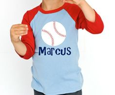 Baseball Birthday Shirt by personaliTEEshop on Etsy, $25.00
