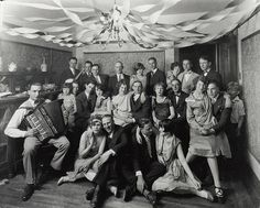 New Year's Eve's Past:  New Year's Eve, c. 1920