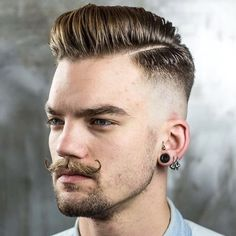 45 Tough looking fade hairstyles for men - Her Canvas