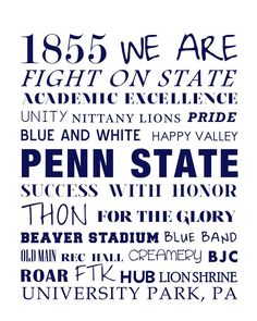 Penn State ♡