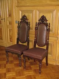Uusbarokki-tuolit 1800-l lopusta