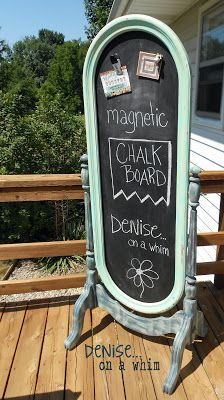 The Chalkboard with a Magnetic Personality | Denise on a Whim