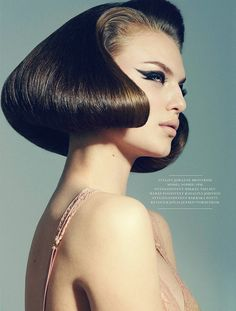 Smells like 60s Vintage Hairstyles, Up Hairstyles, Stylish Hairstyles, Creative Hairstyles, Hairdos, Make Up, Editorial Fashion, Editorial Hair, Hair Makeup