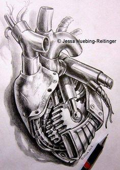 Car Tattoos, Biker Tattoos, Body Art Tattoos, Tattoos For Guys, Motor Tattoo, Motorcycle Art, Bike Art, Tattoo Design Drawings, Tattoo Designs