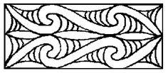 Raperape pattern  Whakairo | Maori Carving: Reading Heads @ maori.org.nz