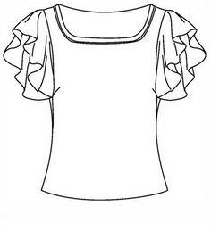 Ausmalbilder Kleidung 13