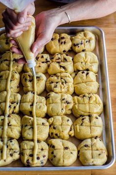 How To Make Hot Cross Buns — Cooking Lessons from The Kitchn   The Kitchn