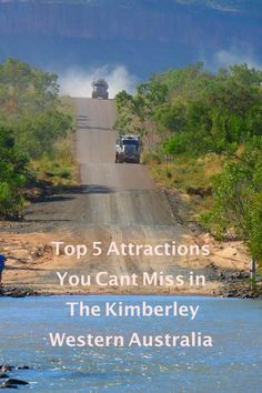 The Kimberley is one of Australia's great outback regions with fabulous gorges, waterfalls, long lonely gravel roads and fantastic camping spots. Here are the Top 5 Attractions You Can't Miss in The Kimberley - ZigaZag Places To Travel, Places To See, Travel Destinations, Western Australia, Australia Travel, Kentucky Camping, Stuff To Do, Things To Do, Australian Road Trip