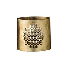 Discover the Day Birger Et Mikkelsen Gold Metal Votive - Antique at Amara