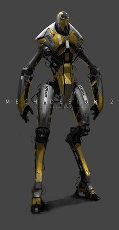 Mech design 2, Tyler Ryan on ArtStation at https://www.artstation.com/artwork/mech-design-2