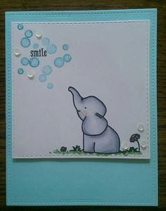 Avery Elle Ellie card...made me smile!