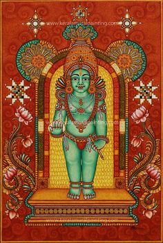 Kerala Mural Paintings - Kerala Mural Painting Art Forms Of India, Kerala Mural Painting, Indian Artwork, Lord Krishna Images, Ganesha Painting, Krishna Art, Hindu Art, Indian Gods, Mural Art