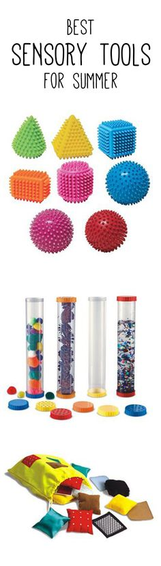 Our Favorite Sensory Tools for Summer