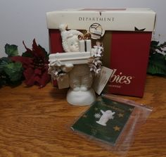 Snowbabies by Dept 56, add to the charm of Christmas with these adorable figurines!